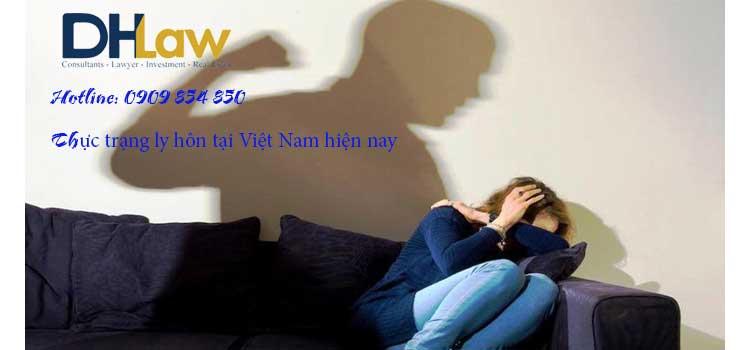 Thực trạng ly hôn ở Việt Nam hiện nay