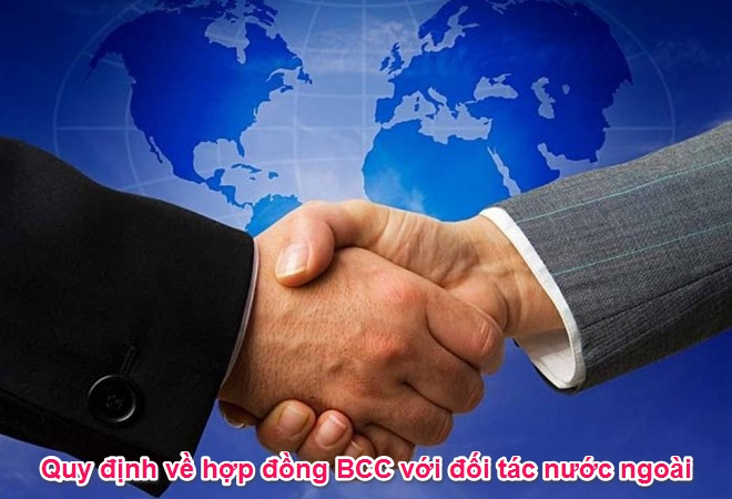 Hợp đồng bcc với đối tác nước ngoài