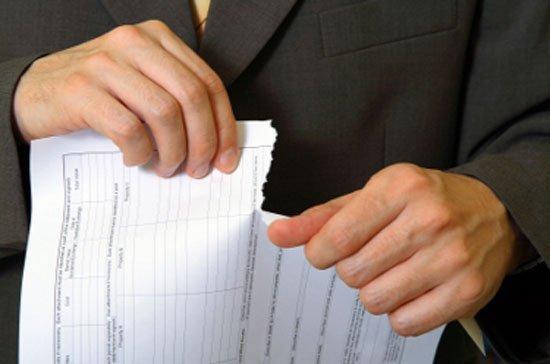 Thủ tục hủy hợp đồng công chứng